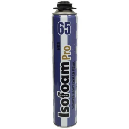 Профессиональная монтажная пена ISOFOAM 65 PRO, зимняя, 850 мл
