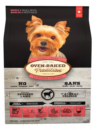 Сухой корм для собак Oven-Baked, овощи, фрукты, ягненок,  1кг