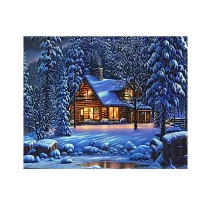 Алмазная мозаика, 40*50 см, GА71615 Зима