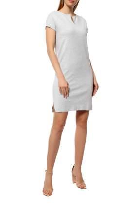 Платье женское Cruciani CD21.230 серое 38 IT