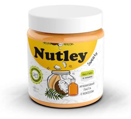 Арахисовая паста с кокосом Nutley; 500г