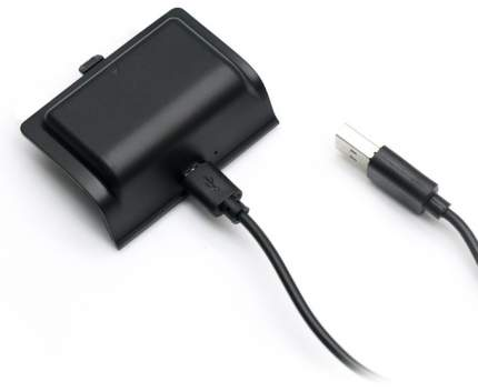 Аккумулятор для геймпада + кабель зарядки черный Dobe Black (TYX-561) для Xbox One