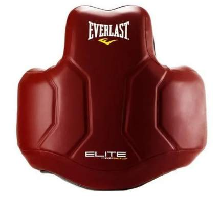 Защита корпуса Everlast Elite PU красн.
