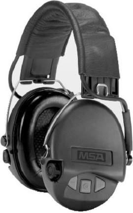 Наушники активные MSA Supreme Pro, SNR 25dB, NRR 18dB, хаки/черн., вход AUX 3,5мм., 2хAAA