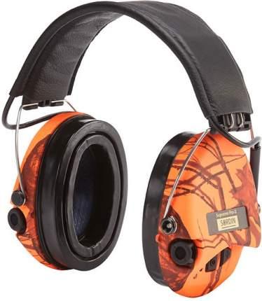 Наушники активные MSA Supreme Pro-X Camo, фонарик, SNR25dB, NRR18dB, orange-MossyOak/черн
