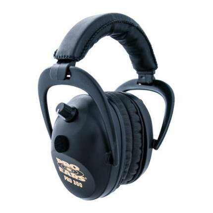 Наушники активные Pro Ears 300 чёрные стерео, складные