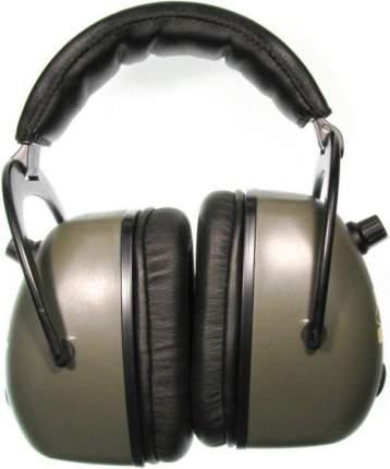 Наушники активные Pro Ears Mag Gold зелёные стерео, складные