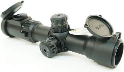 Прицел LEAPERS Accushot Tactical 1-4.5X28, 30мм, грав.Circle Dot,, подсв.IE36, кольца