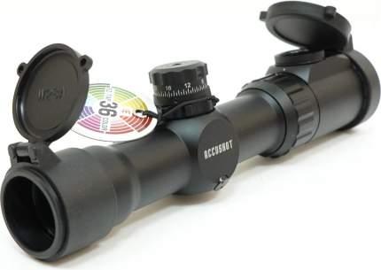 Прицел LEAPERS Accushot Tactical 1-4.5X28, 30мм, грав.MilDot, подсв.IE36, кольца, 476г