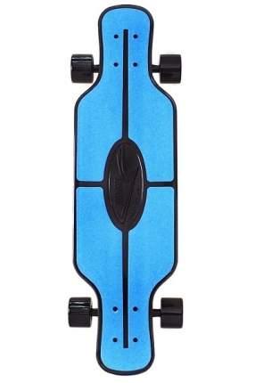 "Скейтборд Y-SCOO Longboard Shark TIR 31"" пластик 79х22 с сумкой BLUE/black"
