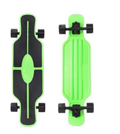 "Скейтборд Y-SCOO Longboard Shark TIR 31"" пластик 79х22 с сумкой GREEN/black"
