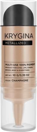 Сухой пигмент Krygina Cosmetics Metallized Champagne