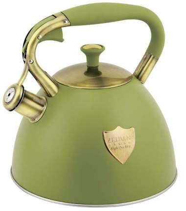 Чайник ZEIDAN Z-4280 зеленый 3л