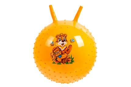 Детский массажный гимнастический мяч Bradex желтый DE 0541