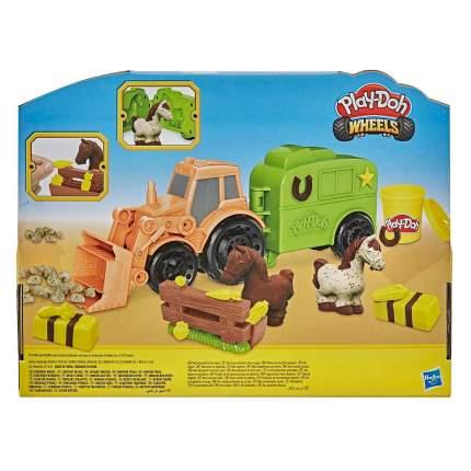 Игровой набор с пластилином Hasbro Play-Doh F1012 Фермерский трактор