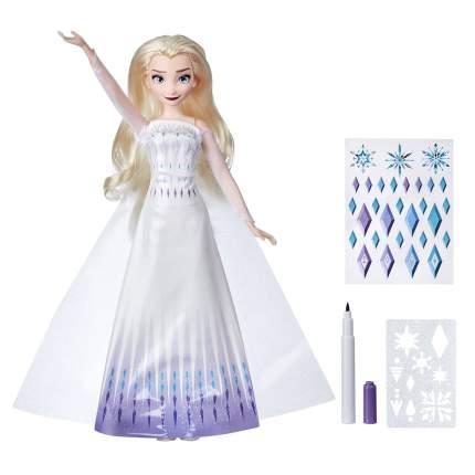 Кукла Hasbro Disney Frozen Холодное сердце 2 E9966 Эльза с аксессуарами