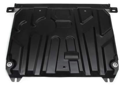 Защита картера и КПП AutoMax Hyundai Solaris 10-17/Kia Rio III 11-17, ST 1.4mm, AM.2343.1