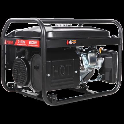 Бензиновый генератор A-iPower Lite AP3100 2.8 кВт, 230В, с ручным запуском (20203)