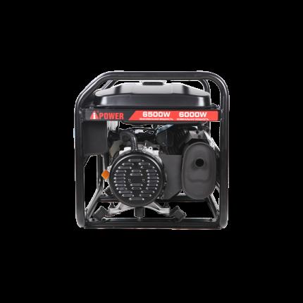 Бензиновый генератор A-iPower Lite AP6500 с ручным запуском 6кВт, 230В (20206)