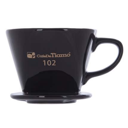 Воронка Tiamo Керамическая Hg5493 Черная