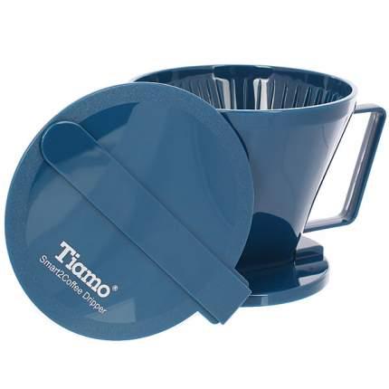 Воронка иммерсионная Tiamo SMART2COFFEE (HG5569В) по системе Клевер, пластик, синяя