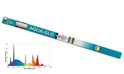 Флуоресцентная лампа для аквариума Aqua для , 40 Вт, цоколь T8, 105 см