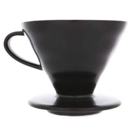 Воронка керамическая для кофе HARIO VDC-02-MB-UEX, черная матовая