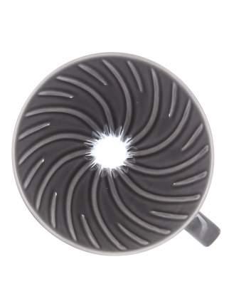 Воронка керамическая для приготовления кофе HARIO 3VDC-02-GR-UEX, серая