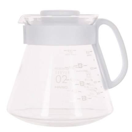 Чайник + воронка керамическая HARIO XVDD-3012W Белый