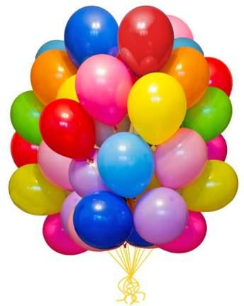 Воздушные шарики 25 шт от 20 до 30 см