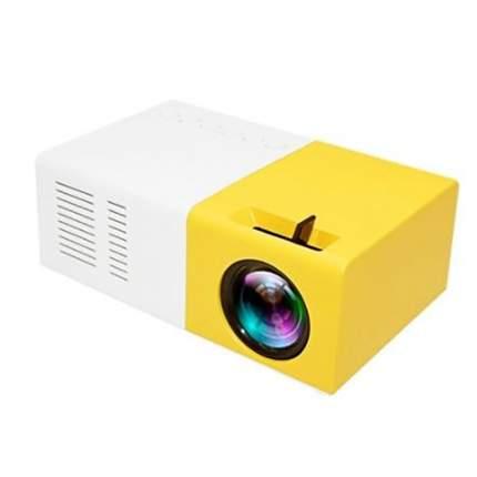 Мини проектор LED Mini Projector J9 Yellow