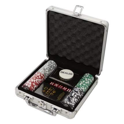 Фабрика Покера: Набор из 100 фишек для покера с номиналом 251532