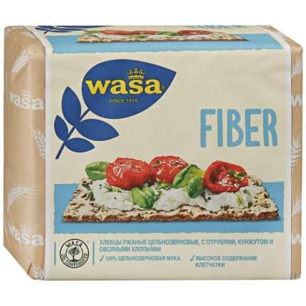 Хлебцы Wasa Fiber ржаные с пшеничными отрубями кунжутом и овсяными хлопьями 230 г