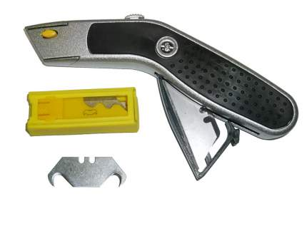 Нож трапециевидный изогнутый 3 и 10 лезвий крюк SK2 SKRAB 26750