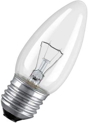 Лампа Osram Е27 60W свеча прозрачная