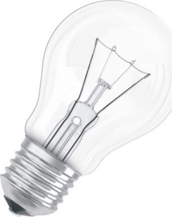 Лампа накаливания Osram Classic A Е27 95 Вт прозрачная