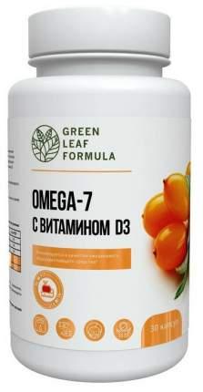 Омега-7 c витамином D3 Green Leaf Formula OMEGA 7 капсулы 30 шт.