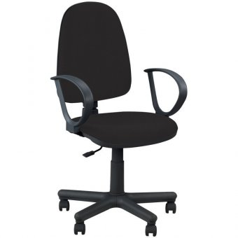 Кресло оператора Nowy Styl Jupiter PL, ткань черная