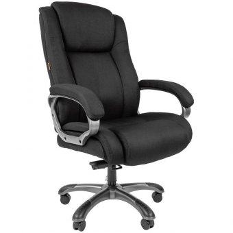 Кресло руководителя Chairman 410, ткань черная