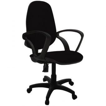 Кресло оператора Фабрикант Комфорт, PL, ткань черная