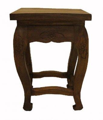 Кофейный резной столик, h=50см
