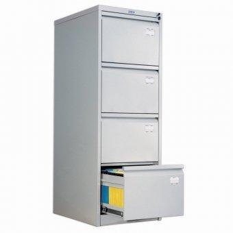 Шкаф картотечный ПРАКТИК AFC-04, 1330х467х630 мм