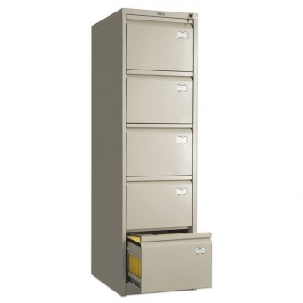 Шкаф картотечный ПРАКТИК AFC-05, 1634х467х630 мм