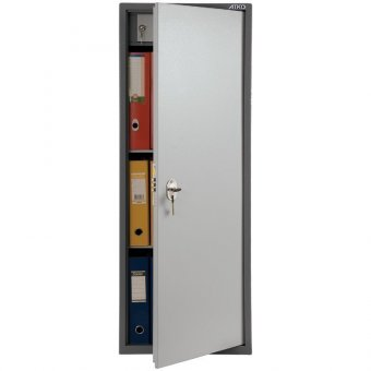 Шкаф бухгалтерский Aiko SL-125Т, 1252х460х340, ключевой замок
