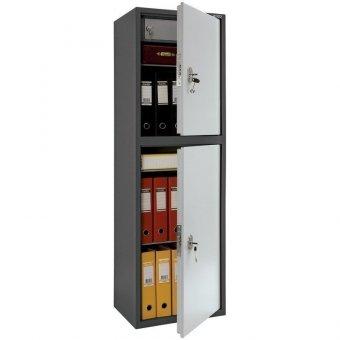 Шкаф бухгалтерский Aiko SL-150/2T, 1490х460х340, ключевой замок