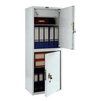 Шкаф металлический ПРАКТИК SL-125/2Т, 1252х460х340 мм