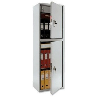 Шкаф металлический ПРАКТИК SL-150/2Т, 1490х460х340 мм