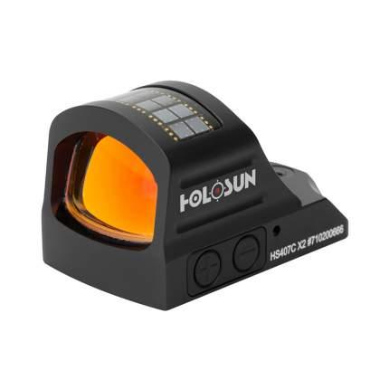 Коллиматор Holosun HS407C X2, компактный HS407C X2 Открытый  Holosun