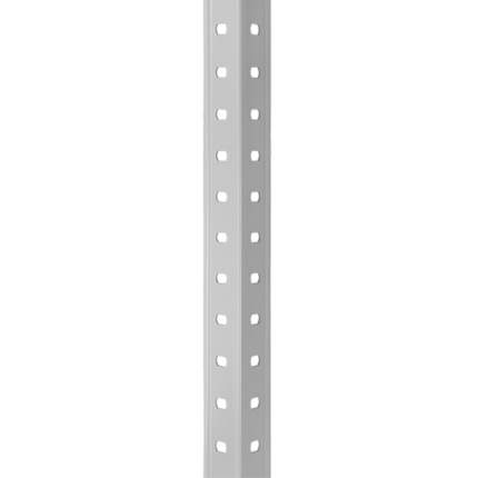 Стеллаж металлический ПРАКТИК MS, 1850х1000х600 мм, 4 полки, MS 185/100х60/4