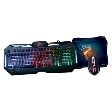 Комплект клавиатура и мышь Qumo Spirit of Wisdom